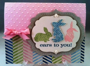 Ears to you... a single stamp