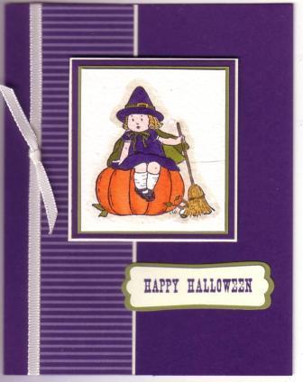 greeting card kids halloween