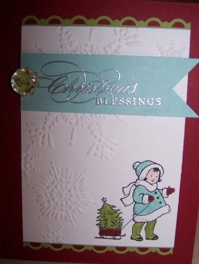 greeting card kids xmas 2