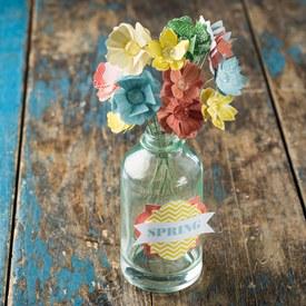 Bloomin bouquet paper flower kit lynnzcrafters bloomin bouquet project kit mightylinksfo