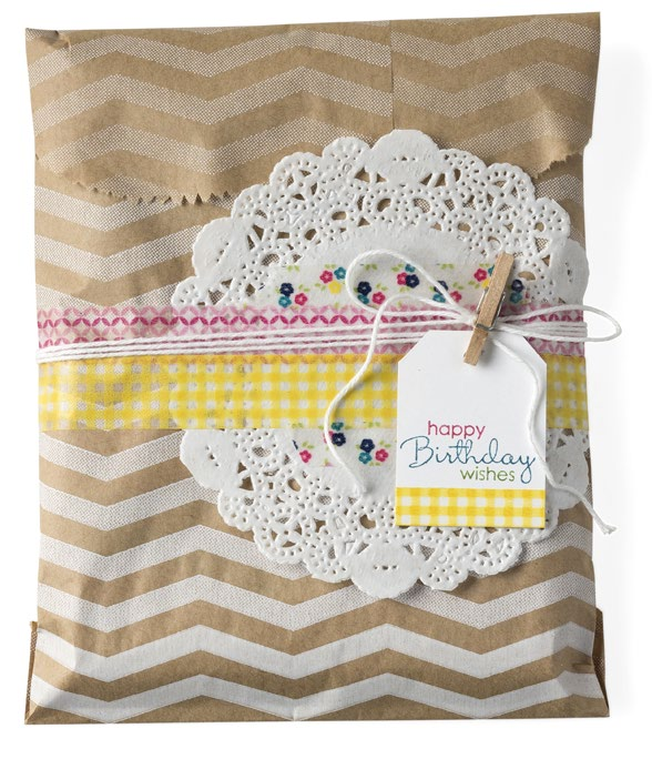 washi gift bag
