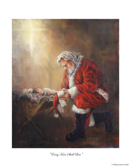 Santa-Kneeling-before-Christ