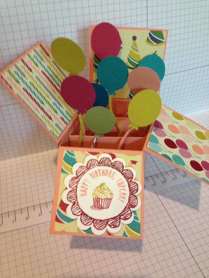 Card In A Box Lynnzcrafters