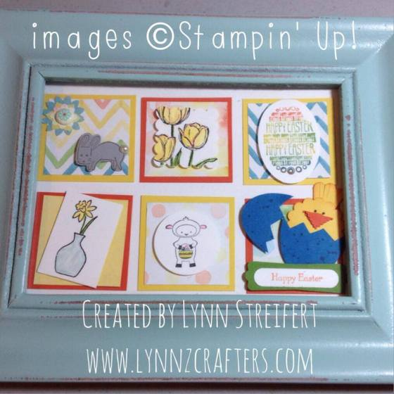easter framed art