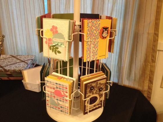 card rack