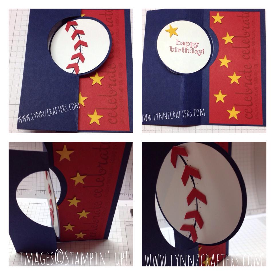 Baseball Birthday Card Lynnzcrafters