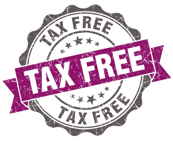 tax free image